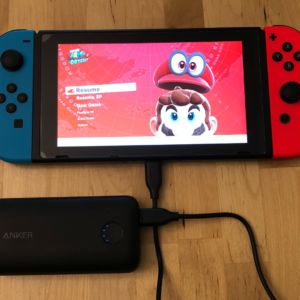 Anker PowerCore 10000 PD Redux with Nintendo Switch