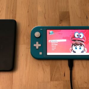 RAVPower PD Pioneer 10000 18W with Nintendo Switch Lite