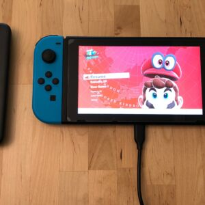 RAVPower PD Pioneer 10000 18W with Nintendo Switch