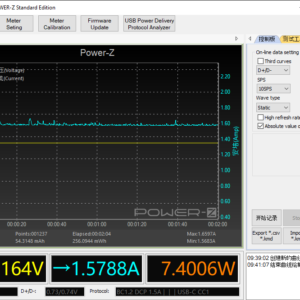 Moto G6 power meter (60W USB-C)