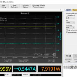 Switch Lite sleeping power meter (60W USB-C)