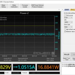 Switch (2019) gaming power meter (60W USB-C)