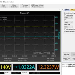 Switch (2019) sleeping power meter (18W USB-C)
