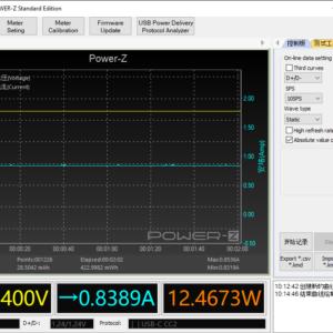 Switch (2019) sleeping power meter (60W USB-C)