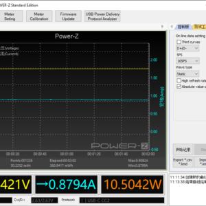 Switch (2017) sleeping power meter (18W USB-C)