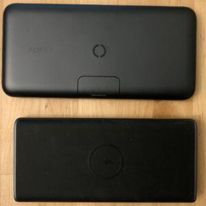 Top: AUKEY PB-WL02 Basix Pro Wireless 10000. Bottom: AUKEY PB-Y32 10000 Wireless.