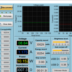 Qi wireless power meter