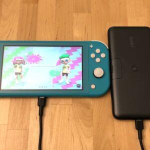 AUKEY PB-WL02 Basix Pro Wireless 10000 with Nintendo Switch Lite