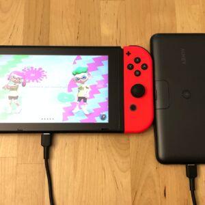AUKEY PB-WL02 Basix Pro Wireless 10000 with Nintendo Switch