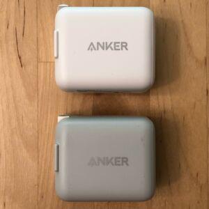 Top: Anker PowerPort C 1. Bottom: Anker PowerPort PD 1.