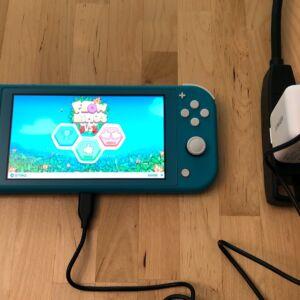 Anker PowerPort C 1 with Nintendo Switch Lite