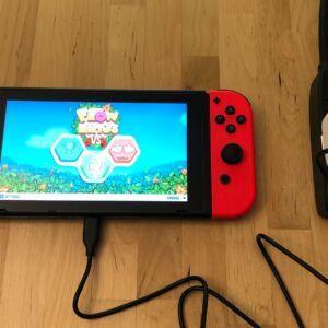 Anker PowerPort C 1 with Nintendo Switch