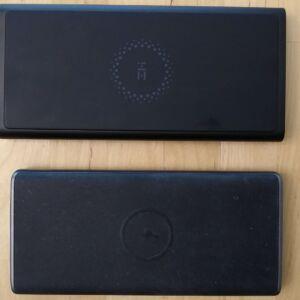 Top: ZMI LevPower M10 USB-C. Bottom: AUKEY PB-Y32 10000 Wireless.