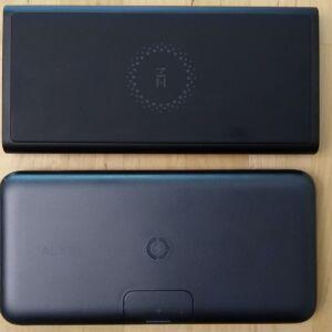 Top: ZMI LevPower M10 USB-C. Bottom: AUKEY PB-WL02 Basix Pro Wireless.
