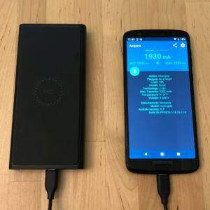 ZMI LevPower M10 USB-C with Moto G6
