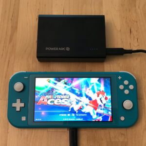 PowerArc ArcPack 15000 with Nintendo Switch Lite