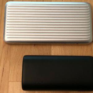 Top: SP QP66 PD. Bottom: AUKEY PB-Y36 Sprint Go Mini 10000 PD.