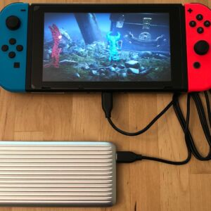 SP QP66 PD with Nintendo Switch