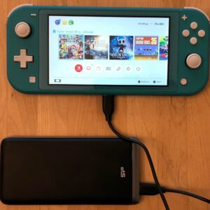 Silicon Power QP65 with Nintendo Switch Lite