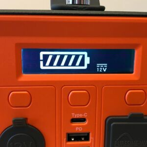 Novoo 230Wh Portable Power Station LCD with DC/car port active