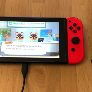 Novtech 18W PD Charger with Nintendo Switch