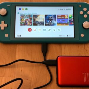 Silicon Power QP70 with Nintendo Switch Lite