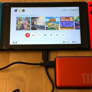 Silicon Power QP70 with Nintendo Switch